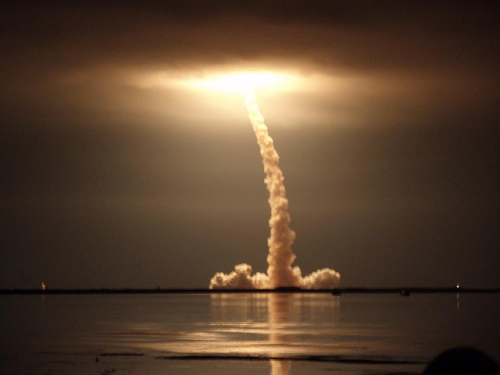 Night Time Launch
