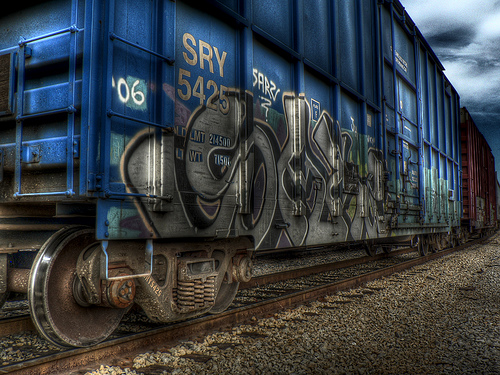 HDR graffiti