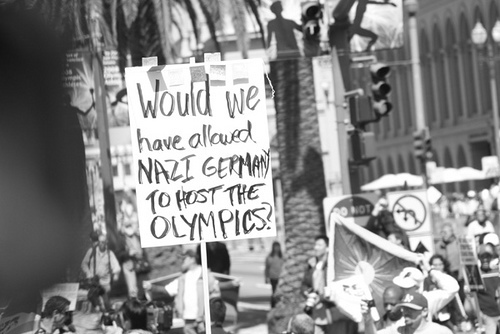 nazi propaganda and the olympics North korea wins the propaganda gold  reifenstahl was hailed as a genius for her nazi propaganda film about the 1936 munich olympics and north korea's propaganda minister can return to her.
