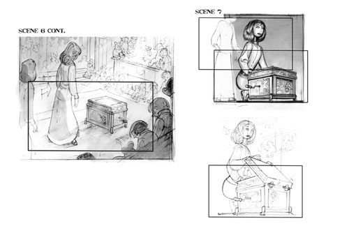 Storyboard Comic reference