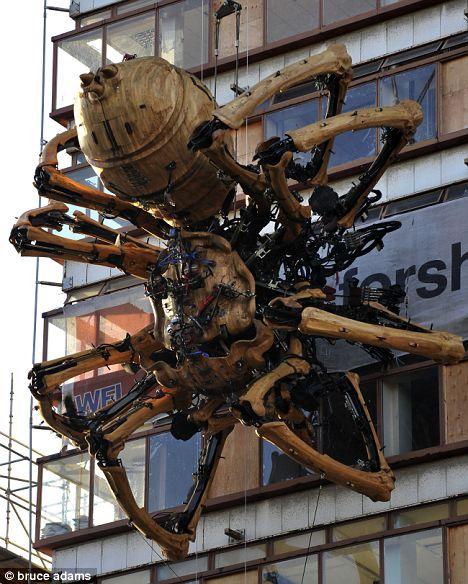 Clockwork Arachnid in Liverpool
