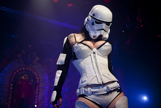 Star Wars Burlesque Storm Trooper Courtney Cruz