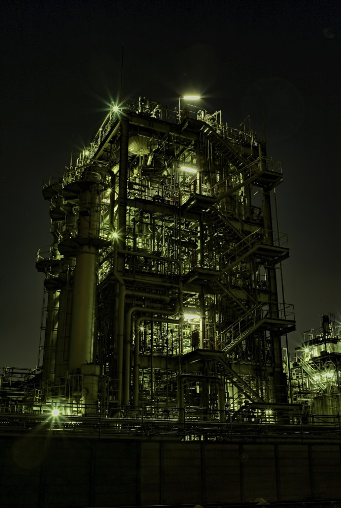 Kawasaki industrial plant #7