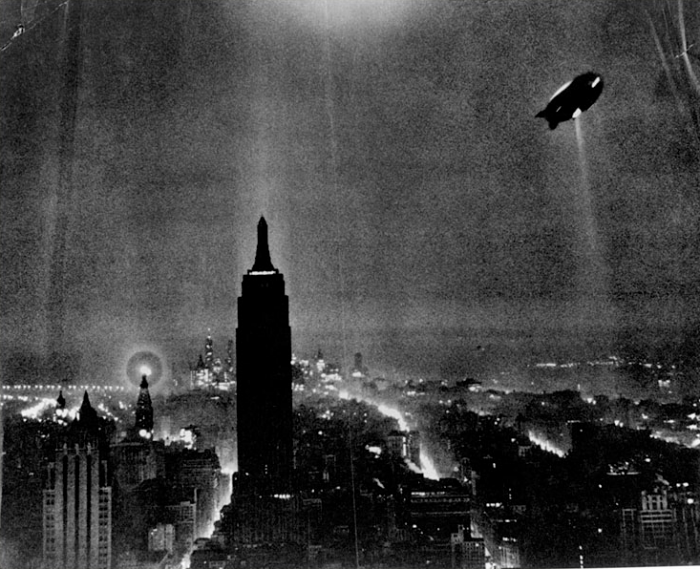Hindenburg over NYC